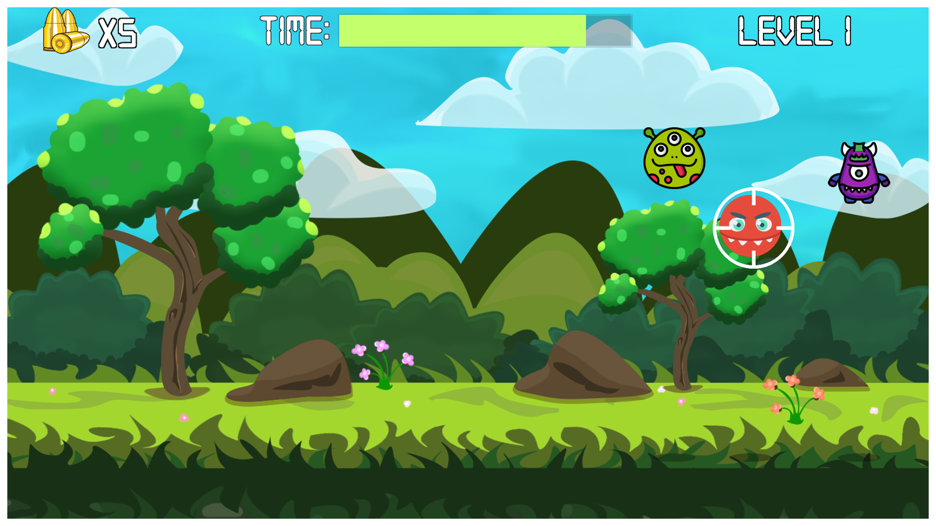 Monster Defense: Unity Funny Shooting Game Template